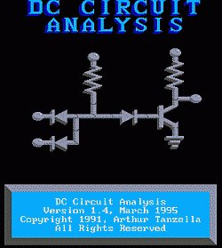 Logo programu DC Circuit Analysis