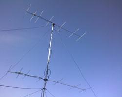 DK7ZB stack na 144 MHz